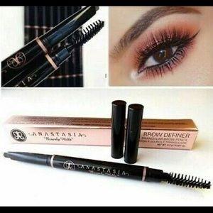 2 new Anastasia eye brow pencil black